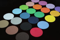 "1 3/4"" Foam Circles by Color"