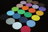 "2"" Foam Circles in Assorted Colors"