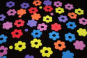 Small Button Flower Foam Shapes