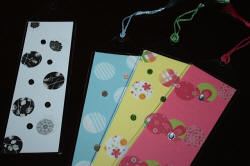 Bookmark Ideas with Tassels, Inserts, & Vinyl Sleeves