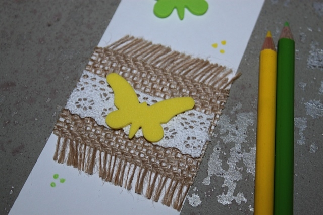 How to Make Butterfly Bookmarks