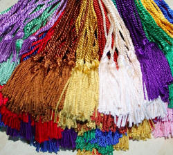 All Colors Chainette Bookmark Tassels