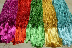 Tropical Color Floss Bookmark Tassels