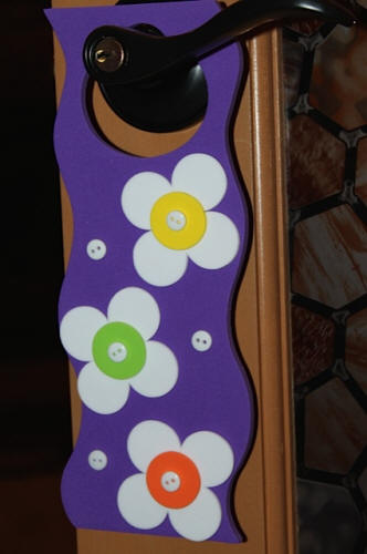 Easy to Make Flower Door Hangers