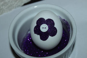 how to make sparkling easter eggs