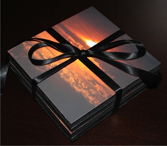 Photo-Coaster-with-Black-Ribbon
